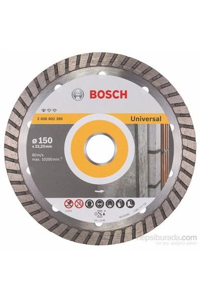 Bosch - Expert Serisi Tüm Malzemeler İçin Turbo Segman Elmas Kesme Diski - 150 X 22,23 X 2,5 X 10 Mm