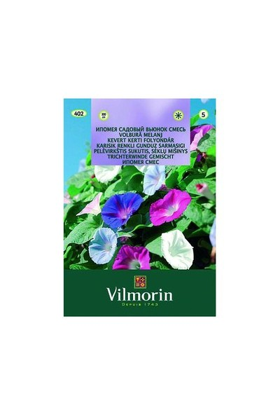 Vilmorin Kahkaha Çiçeği Karışık Renkli Çiçek Tohumu