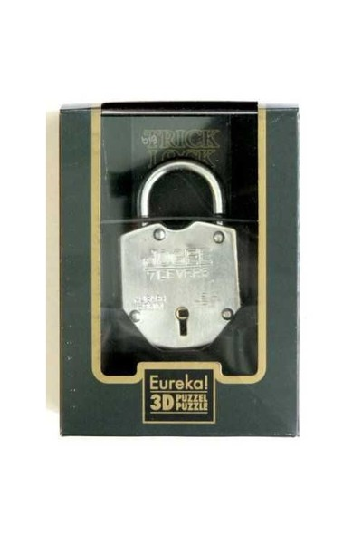 Eureka Puzzle Big Trick Lock - Hileli Büyük Kilit