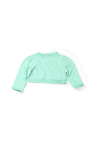 Zeyland Kız Çocuk Yeşil Bolero - K-61KL5228