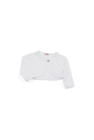Zeyland Kız Çocuk Beyaz Bolero - K-61KL5228