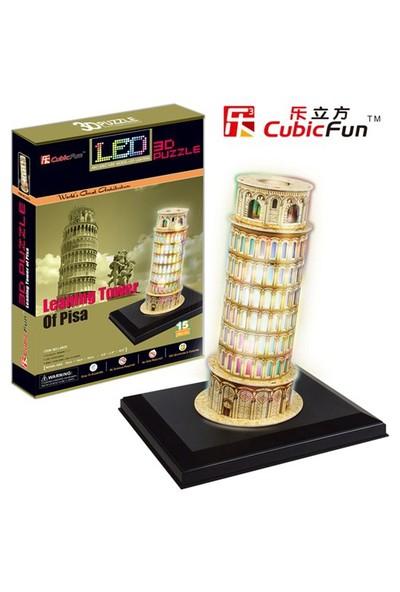 Cubic Fun Puzzle Leaning Tower of Pisa (3 Boyutlu)
