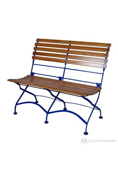Demarforge 5554 Katlanır Kolçaksız Divan Mavi