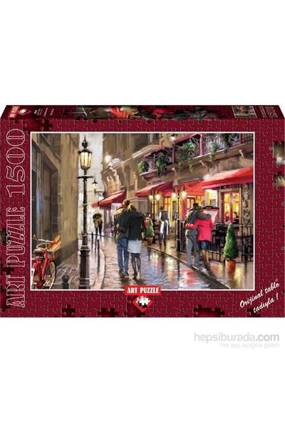 Art Puzzle 1500 Parçalık Aşıklar Sokağı Puzzle