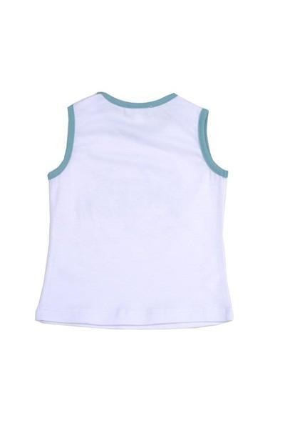 Zeyland Kız Çocuk Beyaz Atlet K-41M682zyl51