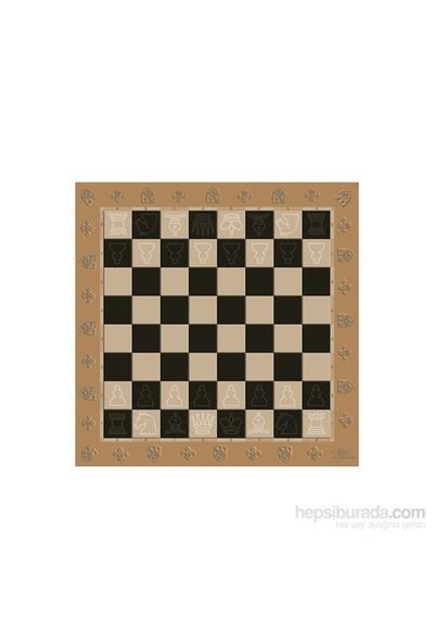Eksen Ahşap Satranç Tablası 30x30 cm