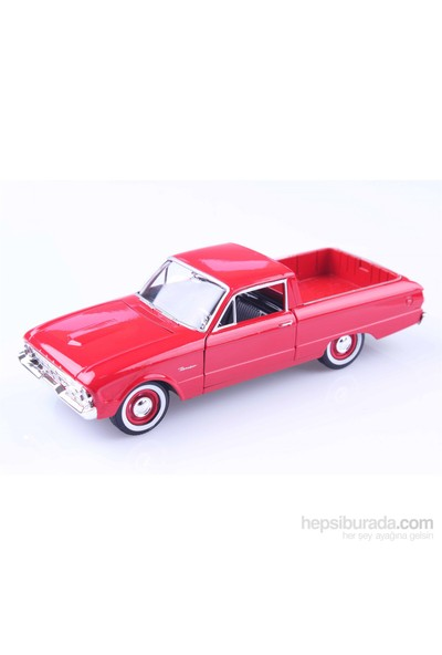 Diecast 1960 Ford Ranchero 1/24 Die Cast Model Araç