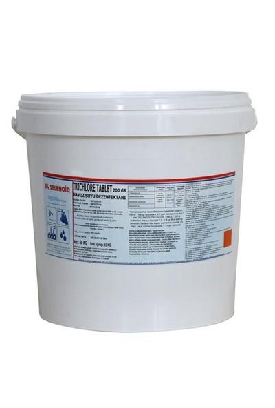 Selenoıd Trıchlore Tablet Klor 10 Kg
