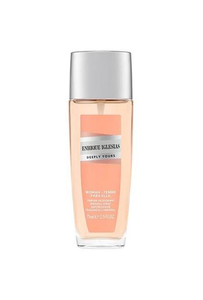 Enrique Iglesias Deeply Yours Woman Deodorant 75 Ml