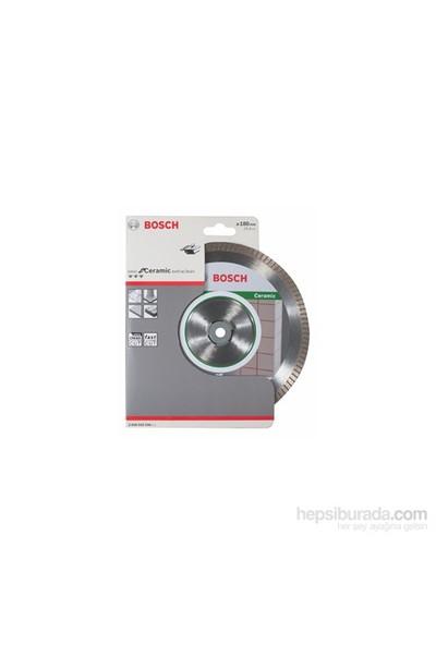 Bosch - Best Serisi Seramik İçin Temiz Kesim Turbo Segman Elmas Kesme Diski - 180 X 22,23 X 1,6 X 7 Mm