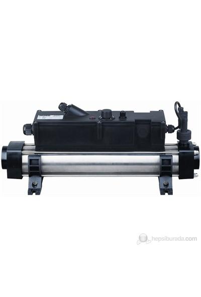 Waterfun Havuz Isıtıcı Elektronik Titanium 9 Kw Flow Line Trı Wf/Elc