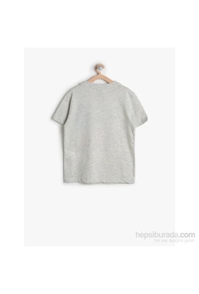 Koton Gri T-Shirt Kısa Kol