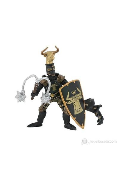 Papo Boğa Başlı Şövalye - Siyah / Altın