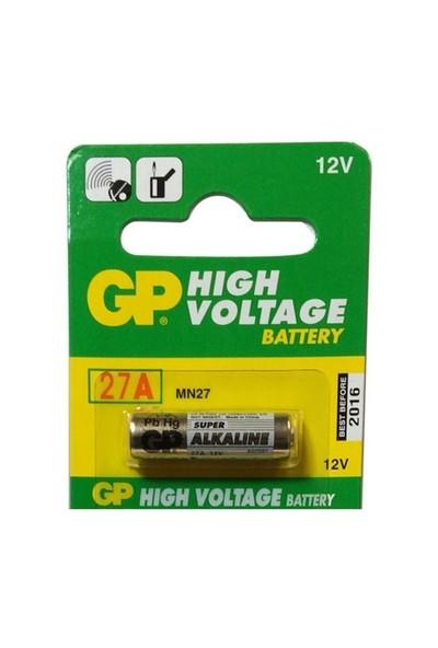Maxell Gp 27A- 2C5 12V Alkalin Pil 10'Lu