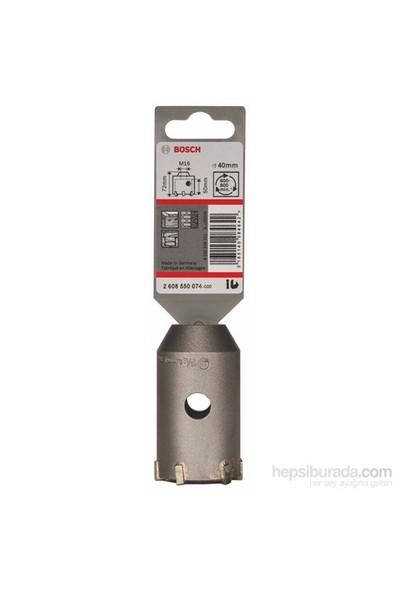 Bosch - Altıgen Adaptör İçin Sds-Plus-9 Buat Ucu - 40 X 50 X 72 Mm, 6 Kesici
