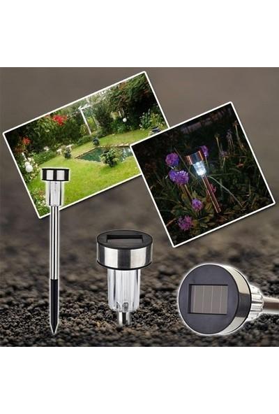 Klaus Kablosuz Çelik Solar Bahçe Lambası