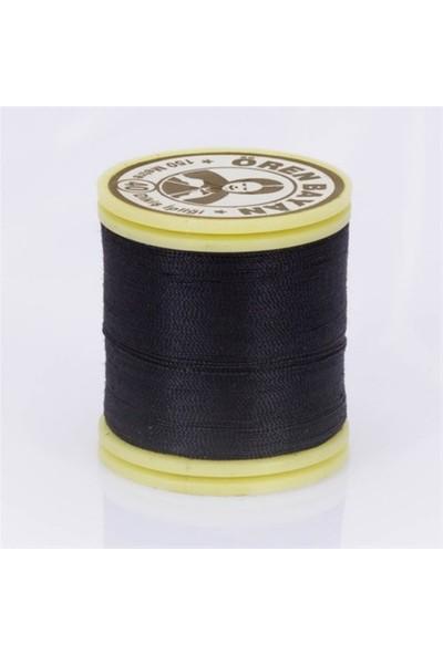 Ören Bayan Siyah Polyester Dikiş İpliği - 854