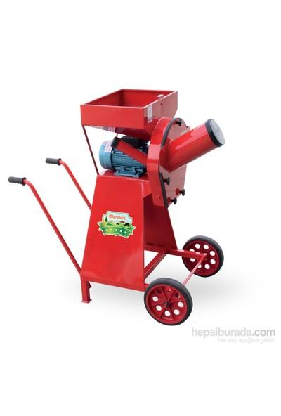 Bartech Tekerlekli Yem Kırma Makinesi 4 Hp Volt Motor