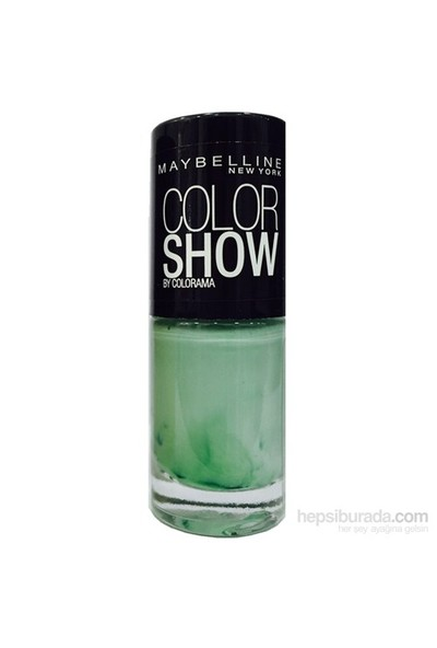 Maybelline New York Color Show Oje 7 Ml - 214 Green With Envy