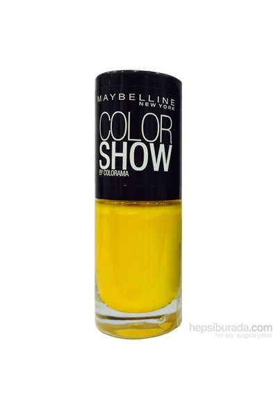 Maybelline New York Color Show Oje 7 Ml - 749 Electric Yellow
