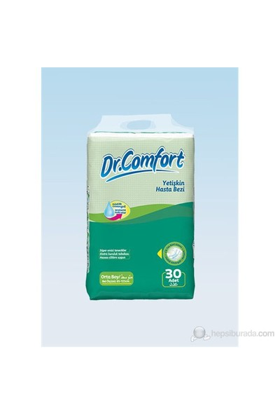 Dr Comfort Hasta Bezi Medium 30 lu