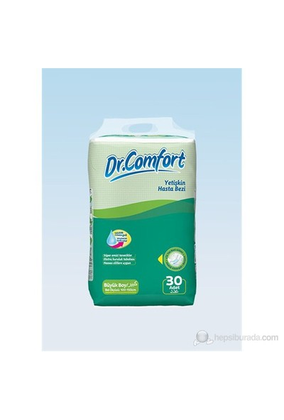 Dr Comfort Hasta Bezi Large 30 lu