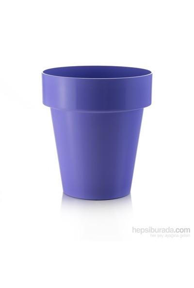 Teraplast Porto Colour (Lılla) Plastik Saksı
