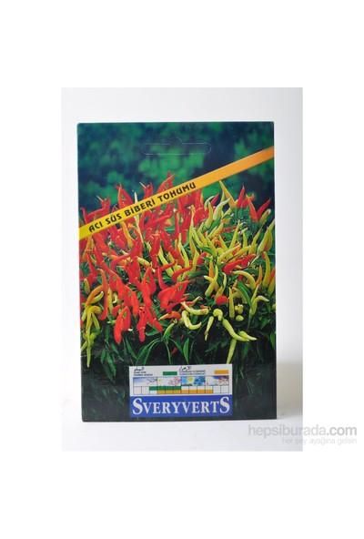 Sveryverts Acı Süs Biberi Tohumu