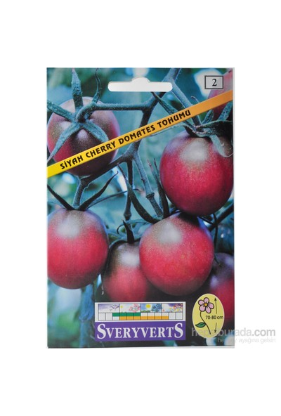 Sveryverts Siyah Cherry Domates Tohumu