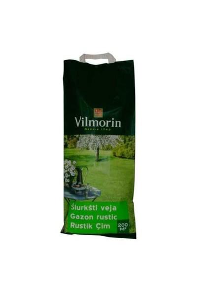 Vilmorin Güçlü Akdeniz Çimi (Rustique) 5 Kg (200 m² alan içindir.)