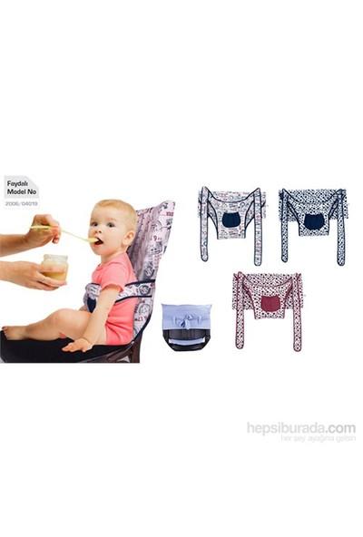 Sevi Bebe Kumaş Mama Sandalyesi