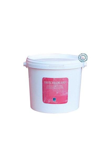 Gemaş Fastchlor 100 Stabilize Trıklor Granülü %90 Toz Klor 50 Kg