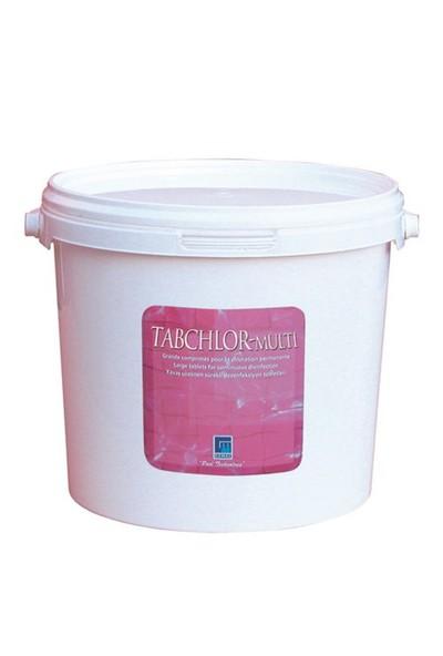 Gemaş Tabchlor Multi 3 Etkili Tablet Klor- Yosun Önleyici.-Çöktürücü 15 Kg