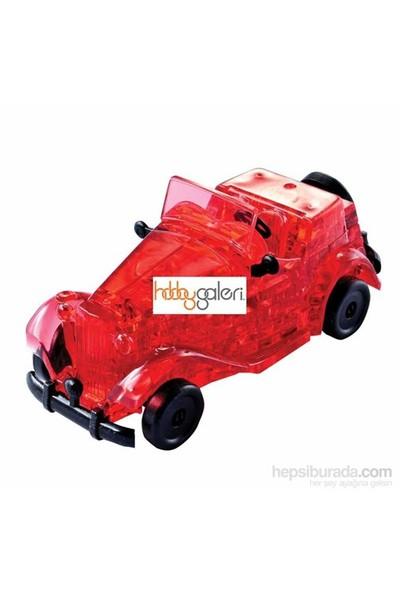 Klasik Kırmızı Araba (53 Parça Puzzle)