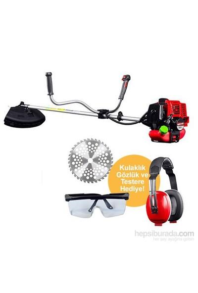 Secho 5500 S Motorlu Tırpan Kulaklık, Testere, Gözlük