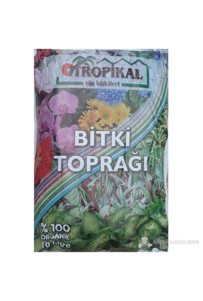 Plantistanbul Tropical Saksı Toprağı 10Lt