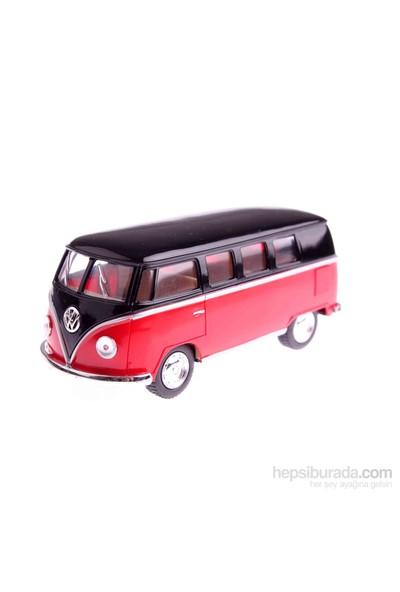 1962 Volkswagen Classical Bus 1/32 Çek Bırak Die-Cast Model Araç