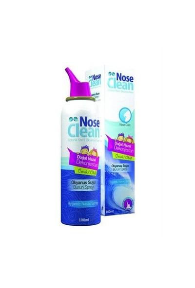 Nose Clean Okyanus Suyu Burun Spreyi Çocuk 100Ml