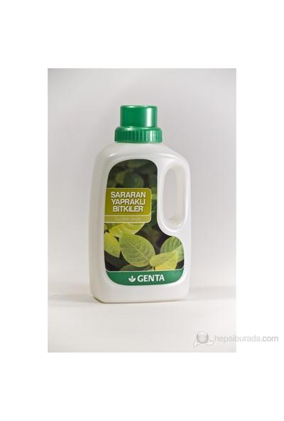 Genta Sararan Yapraklar İçin Sıvı Besin 500 Cc