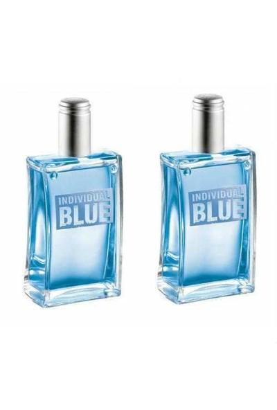 Avon İndividual Blue Edt 100 Ml Erkek Parfüm 2 Adet