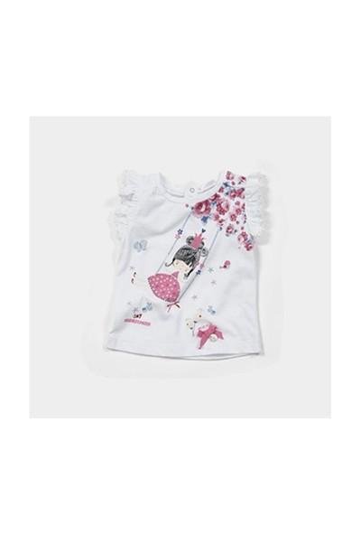 Zeyland Kız Çocuk Beyaz T-Shirt - K-61M2LEF51