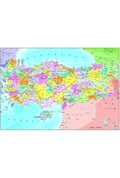 Anatolian Puzzle Türkiye Siyasi Haritası (260 Parça)