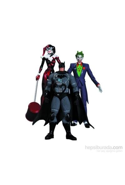 Batman Hush 3'Lü Figür Seti Joker Harley Batman
