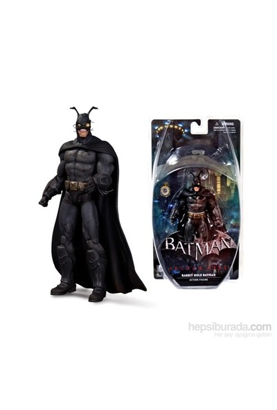 Batman Arkham City Rabbit Hole Batman Figure