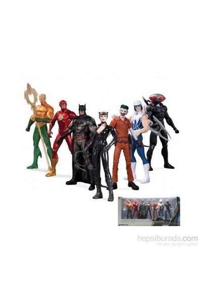 New 52 Super Heroes Vs. Super Villains 7 Pack Figure Set