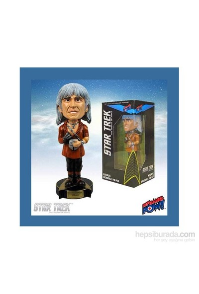 Star Trek: Wrath Of Khan Khan Bobble Head