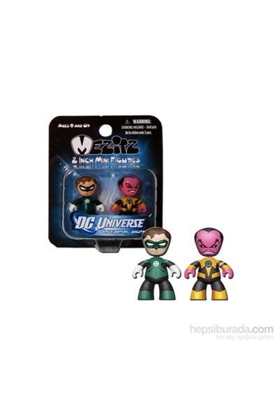 Dc Universe Mini Mez-İtz Green Lantern Sinestro 2'Li Figür Seti