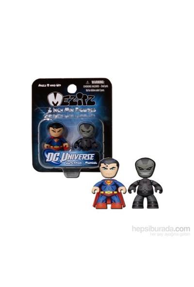 Dc Universe Mini Mez-İtz Superman Mongul 2'Li Figür Seti