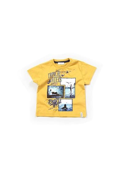 Zeyland Erkek Çocuk Hardal Polo T-Shirt - K-61M1MKZ55