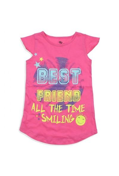 Modakids Wonder Kids Kız Çocuk Kısa Kol T-Shirt 010-3104-022